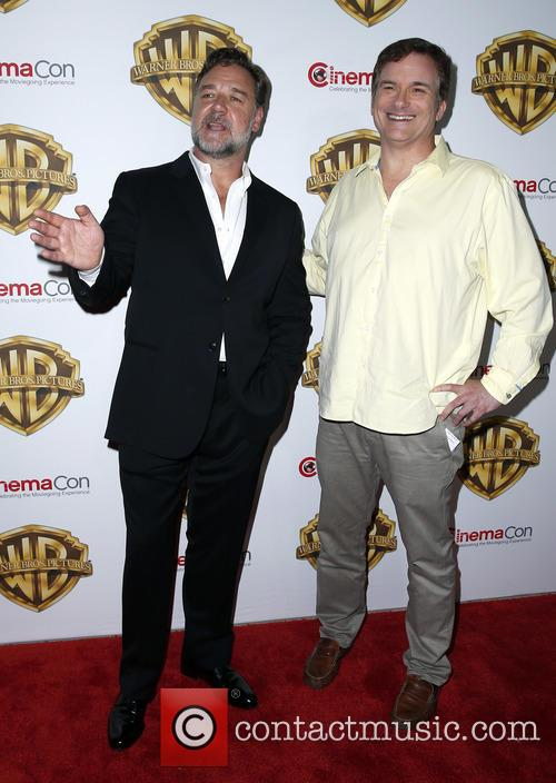 Russell Crowe and Shane Black 2