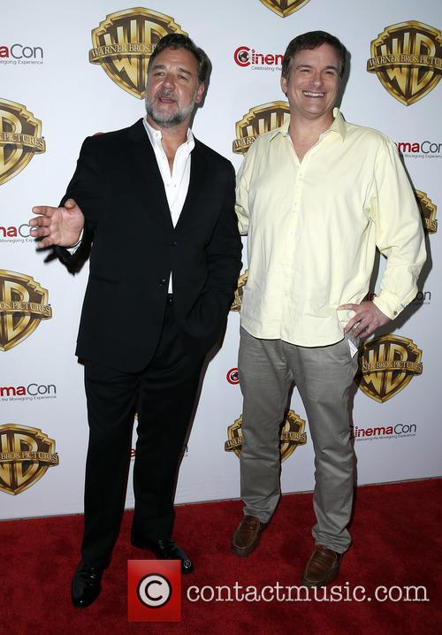 Russell Crowe and Shane Black 3