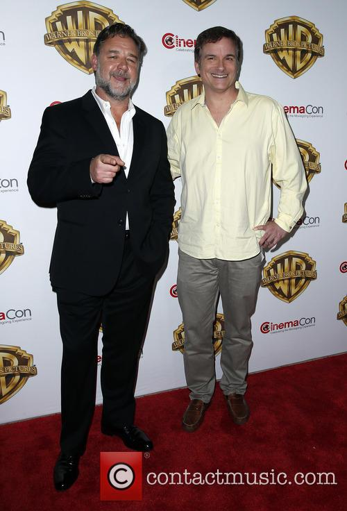 Russell Crowe and Shane Black 7