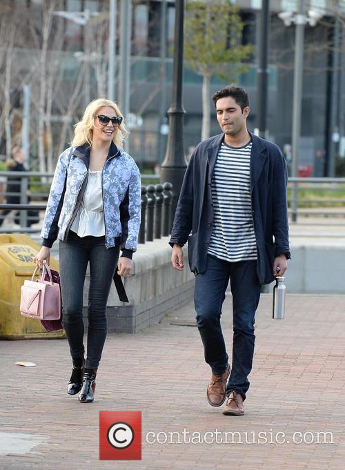 Pixie Lott Sighting Salford Quays