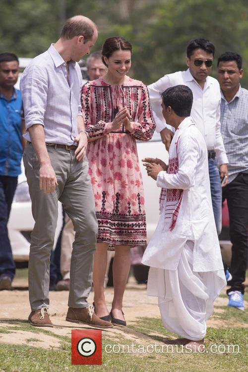 Duke and Duchess of Cambridge, Pan Bari Village