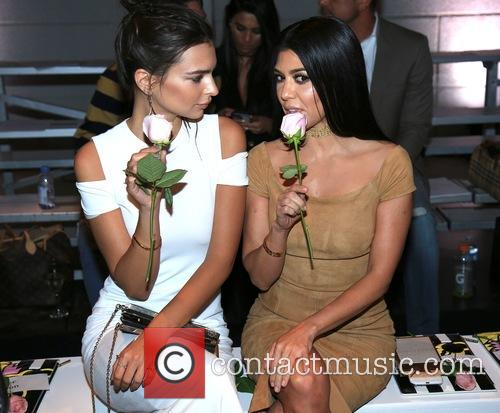 Emily Ratajkowski and Kourtney Kardashian 3
