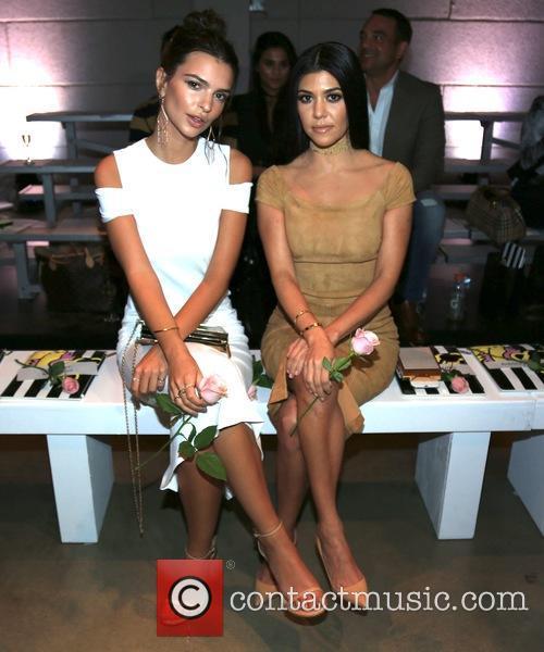 Emily Ratajkowski and Kourtney Kardashian 10