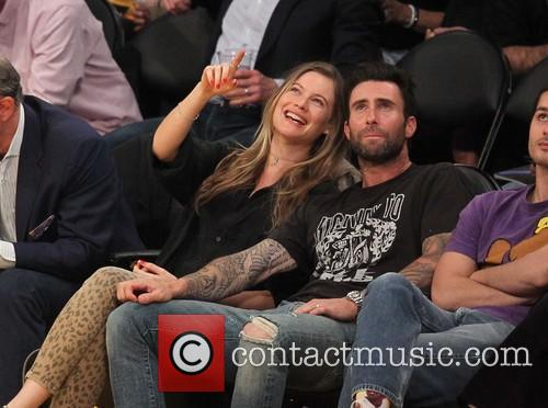 Adam Levine and Behati Prinsloo 7