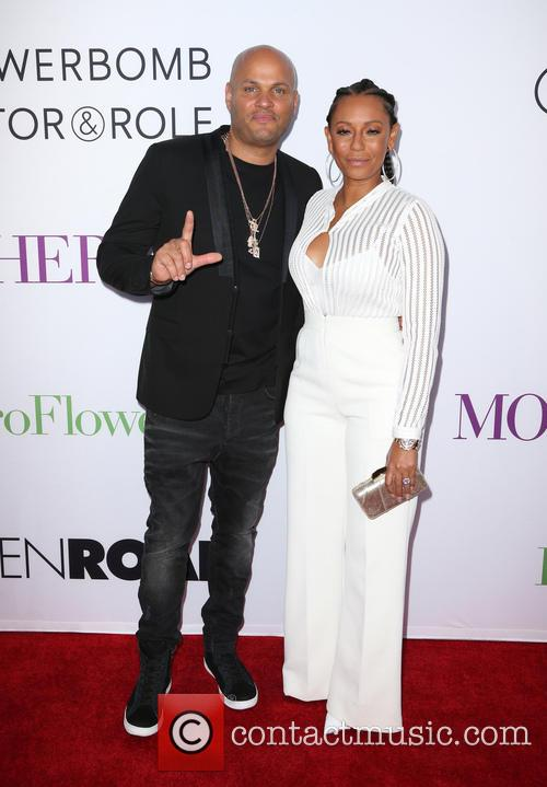 Stephen Belafonte and Melanie Brown 2