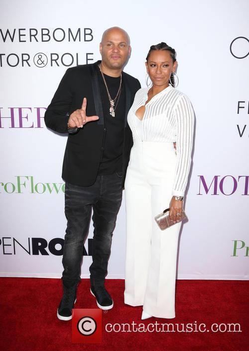 Stephen Belafonte and Melanie Brown 3