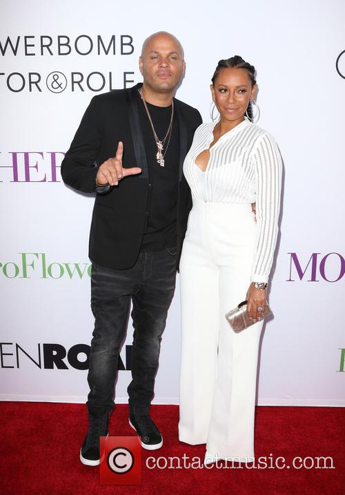 Stephen Belafonte and Melanie Brown 4