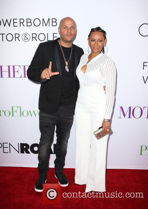 Stephen Belafonte and Melanie Brown 5