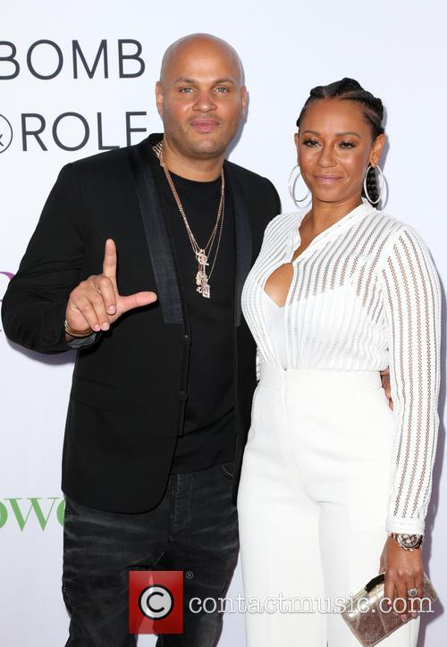 Stephen Belafonte and Melanie Brown 6