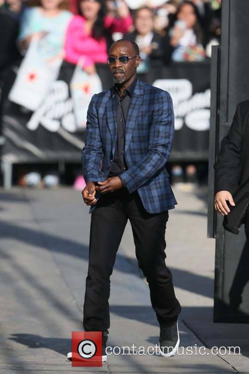 Don Cheadle seen arriving at the ABC studios
