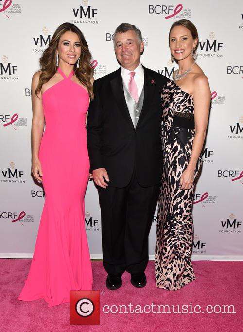 Elizabeth Hurley, William Lauder and Lori Kanter Tritsch 2