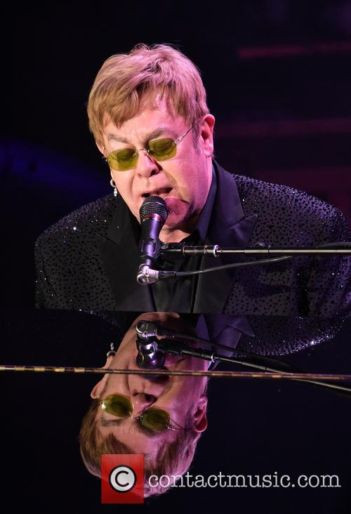 Elton John Launches Sweary Rant At Security Guards During Gig