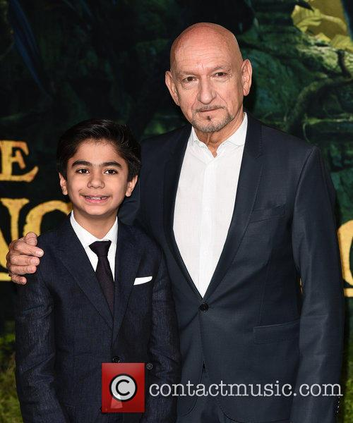 Neel Sethi and Sir Ben Kingsley 4