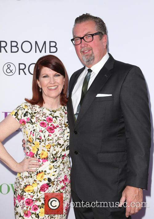 Kate Flannery and Chris Haston 8
