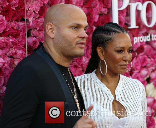 Stephen Belafonte and Mel B 11