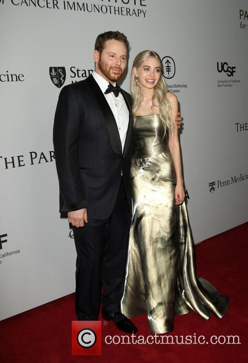 Sean Parker and Wife Alexandra Parker 1