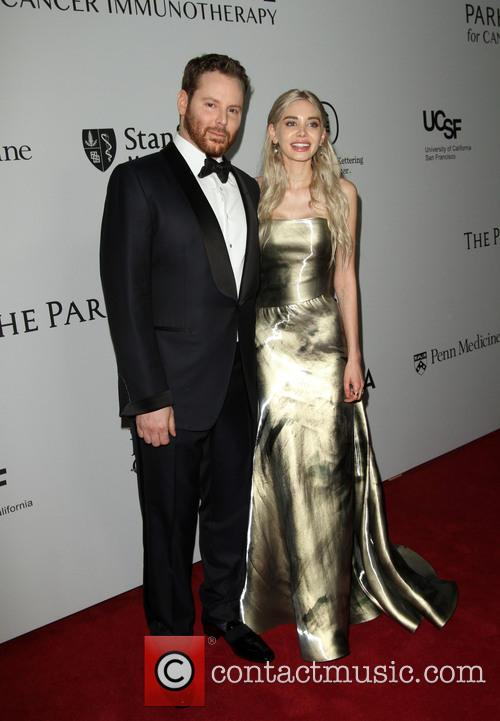 Sean Parker and Wife Alexandra Parker 2