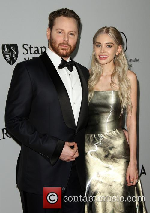 Sean Parker and Wife Alexandra Parker 3