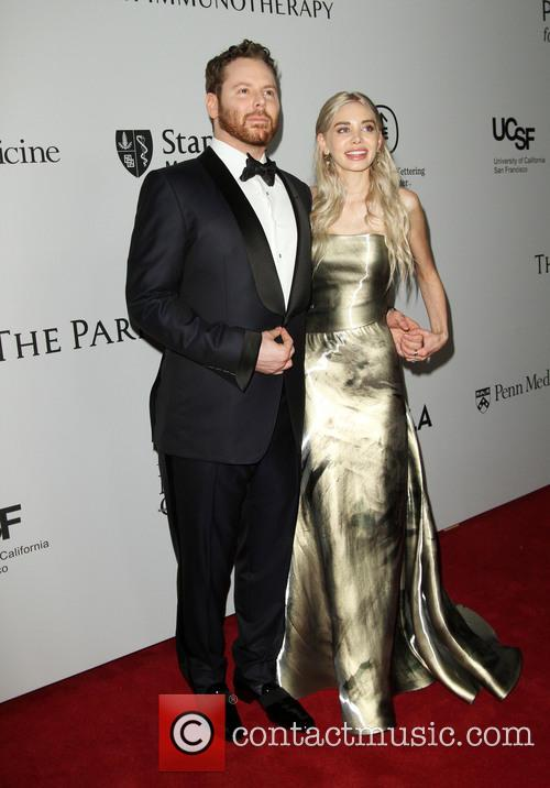Sean Parker and Wife Alexandra Parker 4