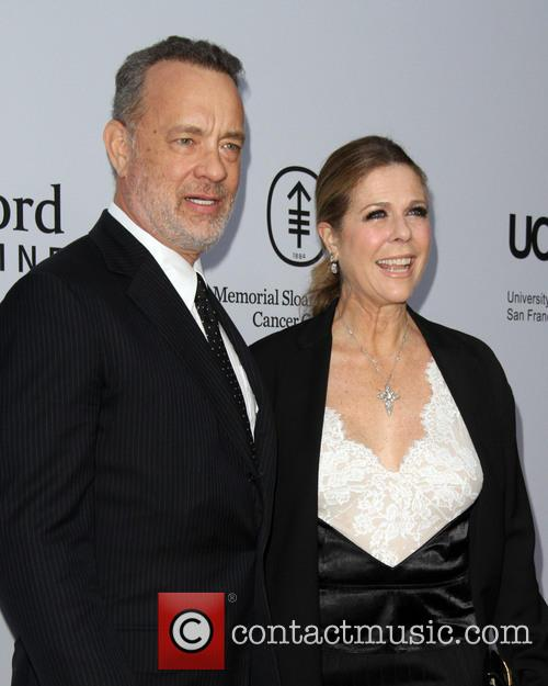 Tom Hanks and Wife Rita Wilson 1