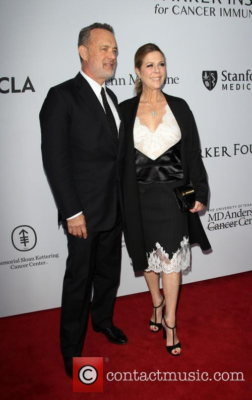 Tom Hanks and Wife Rita Wilson 2