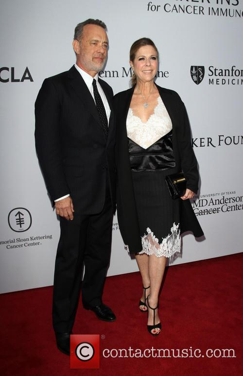 Tom Hanks and Wife Rita Wilson 3