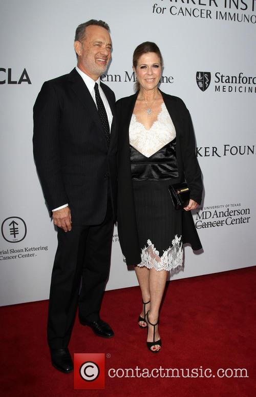 Tom Hanks and Wife Rita Wilson 4