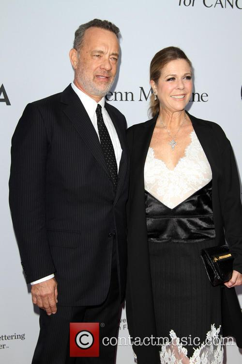 Tom Hanks and Wife Rita Wilson 6