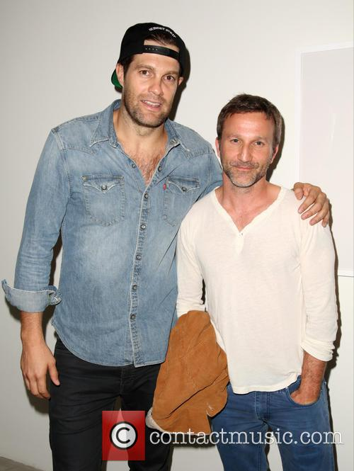 Geoff Stults and Breckin Meyer 1
