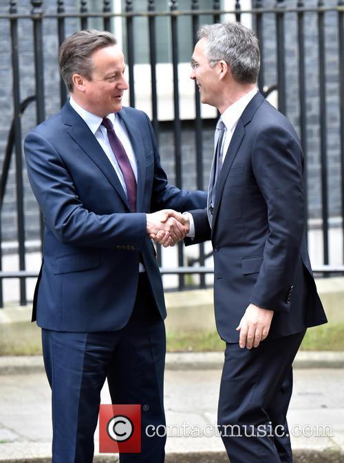 David Cameron and Jens Stoltenberg 4