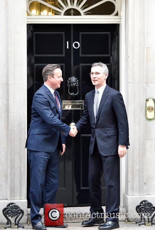 David Cameron and Jens Stoltenberg 5