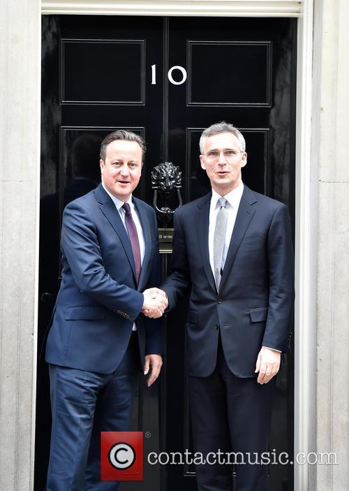David Cameron and Jens Stoltenberg 7