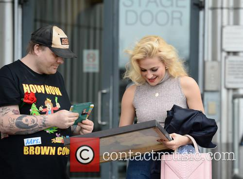 Pixie Lott and Stephen Jones 8
