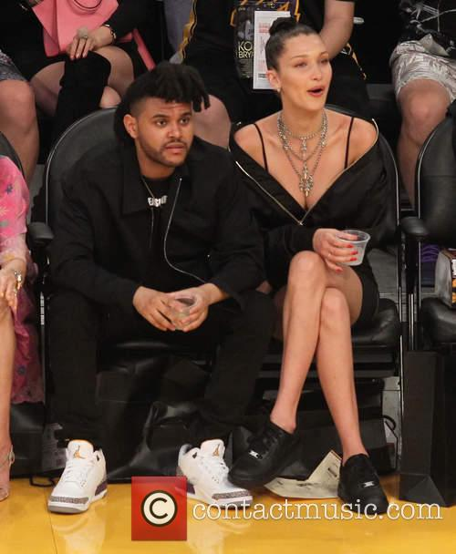 The Weeknd and Belle Hadid 3
