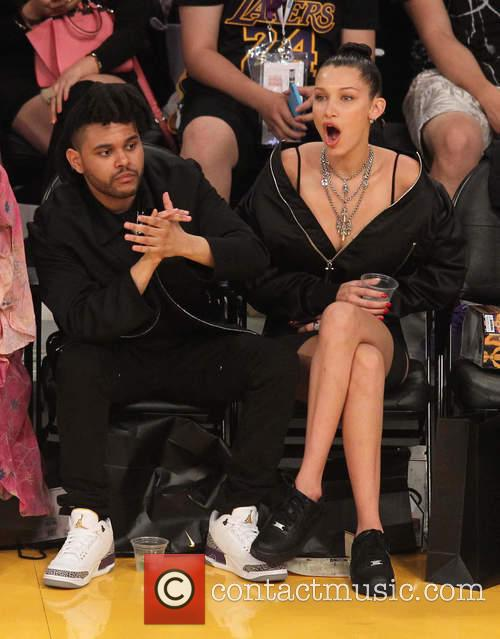 The Weeknd and Belle Hadid 5