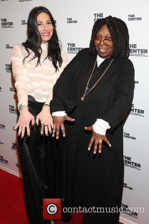 Stacy London and Whoopi Goldberg 1
