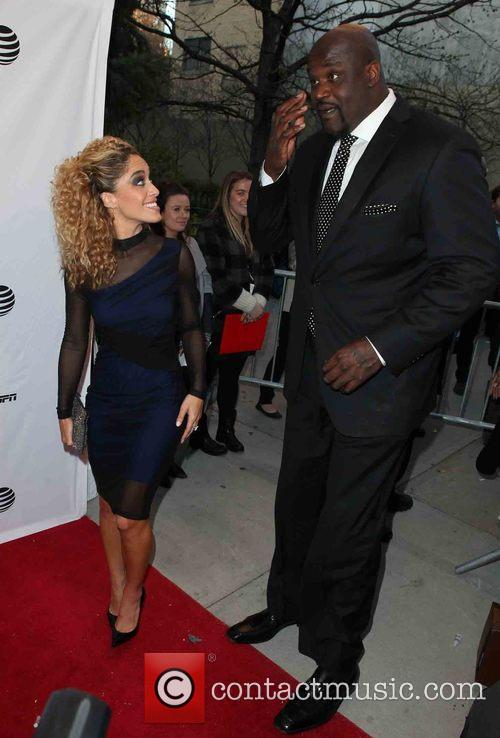 Shaunie O'neal and Shaquille O'neal 1