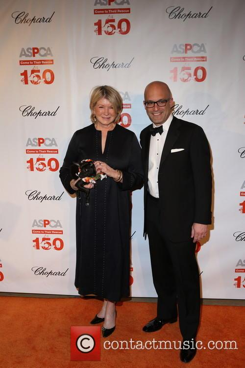 Martha Stewart and Matthew Bershadker 7