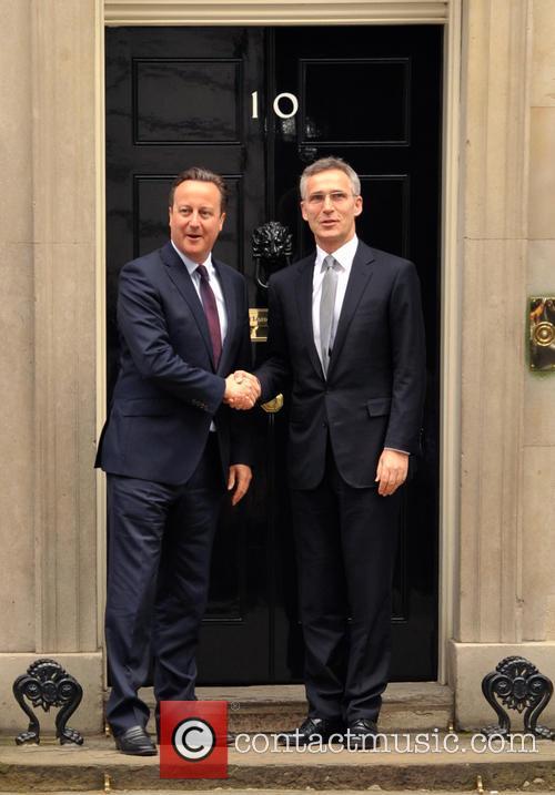 David Cameron and Jens Stoltenberg 2