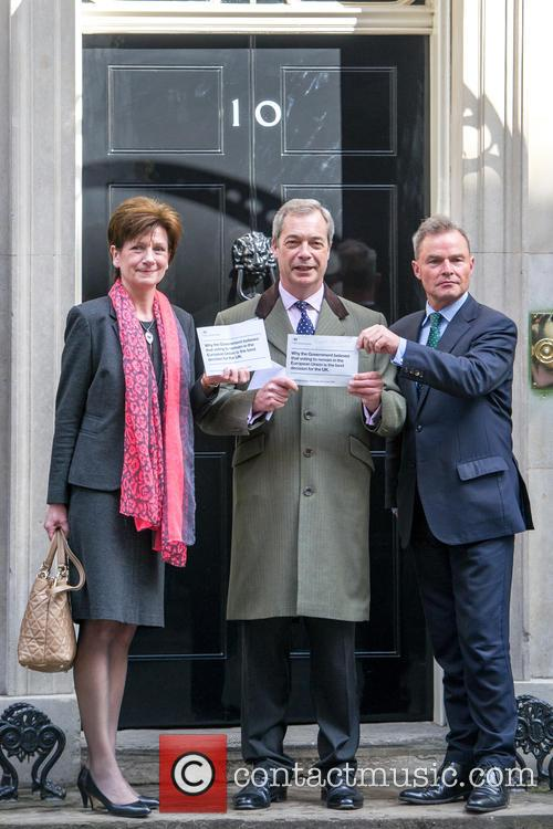 From Left, Diane James Mep, Nigel Farage and Peter Whittle 1