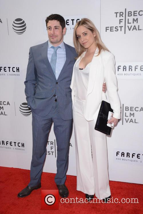 Jason Biggs and Jenny Mollen 1