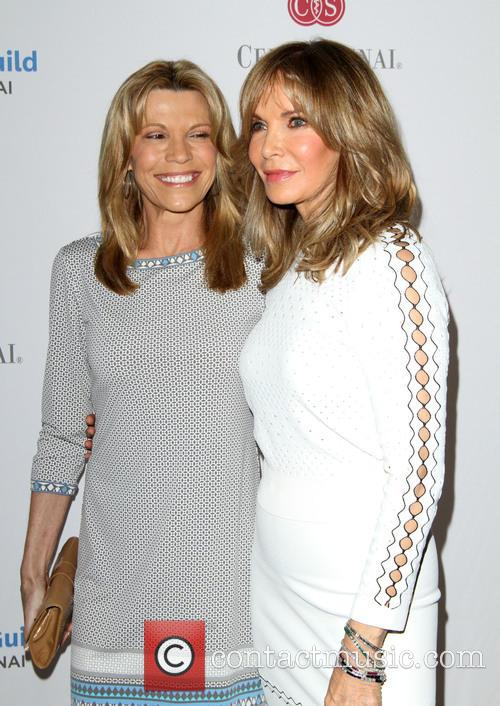 Vanna White and Jaclyn Smith 5