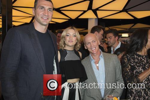 Wladamir Klitschko, Kate Hudson and David Kirsch 1