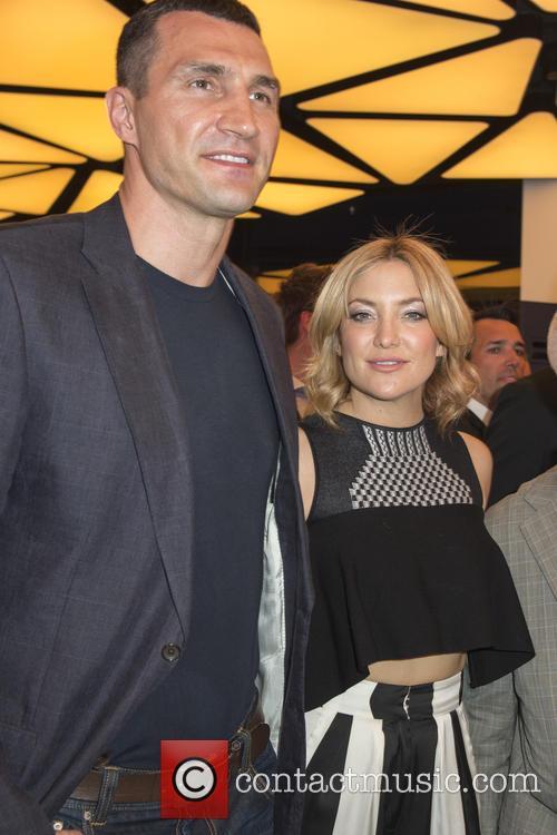 Wladamir Klitschko and Kate Hudson 2