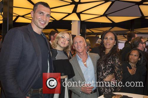 Wladamir Klitschko, Kate Hudson, David Kirsch and Barbara Becker 6