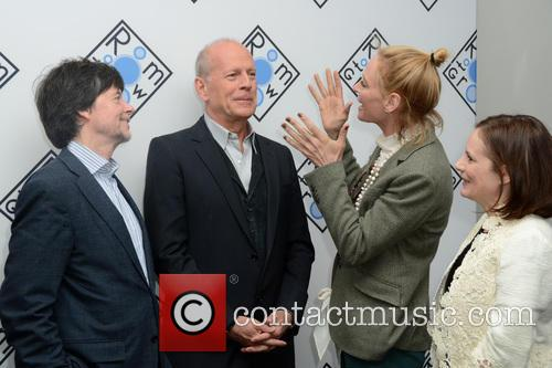 Ken Burns, Bruce Willis and Uma Thurman 3