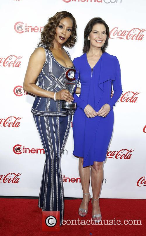 Vivica A. Fox and Sela Ward 2