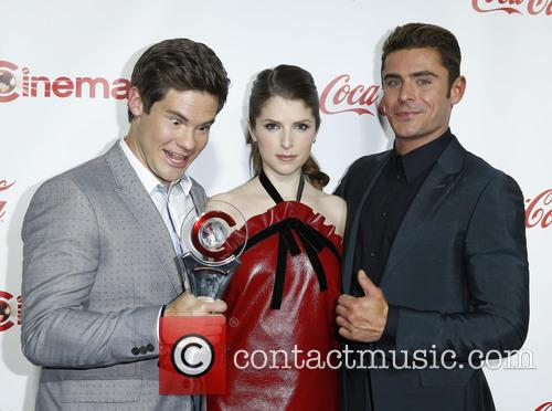 Adam Devine, Anna Kendrick and Zac Efron 10