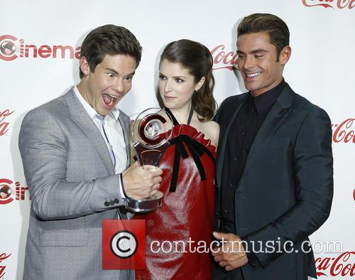 Adam Devine, Anna Kendrick and Zac Efron 11
