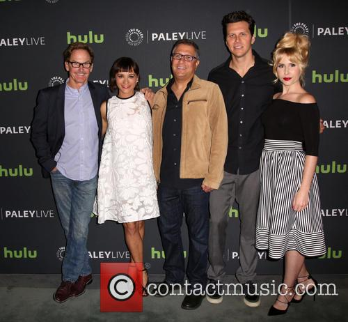 Jere Burns, Rashida Jones, Ira Ungerleider, Hayes Macarthur and Andree Vermeulen 6